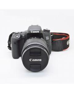 CANON 760D+lens18-135mm